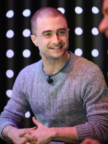 Daniel Radcliffe says he 'had a huge amount to prove' after <i>Harry Potter</i>.