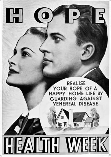 VD poster in <i>Memory of a Nation</i>  at the National Archives of Australia.