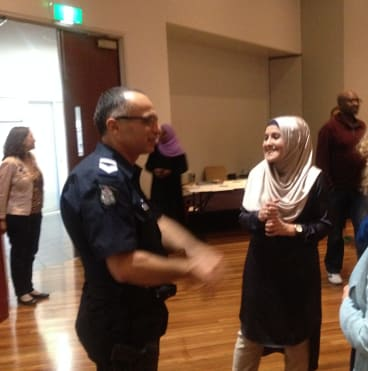"""Saara Sabbagh counsels Muslim women just to """"smile back and take it"""" in response to any verbal abuse, not risk a confrontation, and make a report to police."""