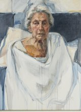 Ann Cape captures an utterly truthful representation of the sitter in The Last Portrait of my Mother.