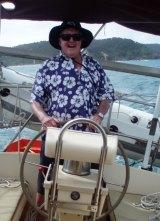 John Roarty takes the wheel.