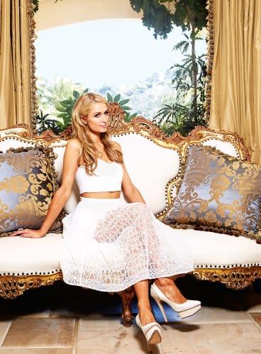 Princess Paris: beneath the airhead image lies a sharp business brain.