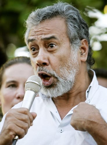"Xanana Gusmao's support for the candidacy of ""Lu-Olo"" Guterres could prove critical in Monday's first round of the presidential elections."
