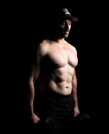 Joey Sheather said he build his physique and PT regimen around long term, sustainable training without the use of drugs.