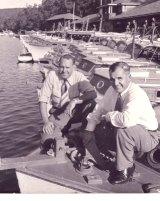 Carl and Trygve Halvorsen at Bobbin Head.