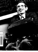 Professor Stephen Hawking, British Scientist. 1992.