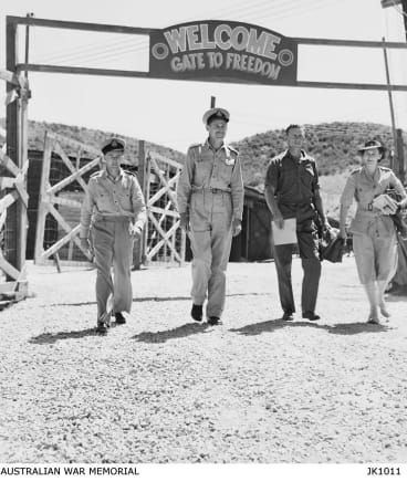 The Korean war ended in July 1953 and on August 29 Flight Lieutenant Gordon Harvey became the first of six RAAF POW released during prisoner exchanges at Panmunjom.