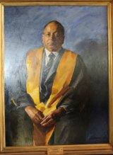 Rajaratnam Sundarason.Portrait by Robert Hannaford