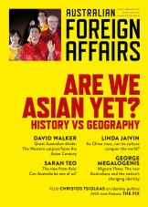 Cover of Australian Foreign Affairs.