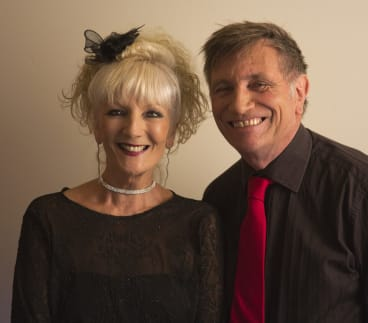 A different take: Moya Simpson and John Shortis are having fun with classic songs.
