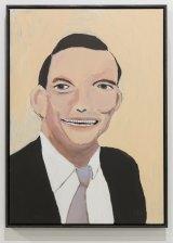 Vincent Namatjira, <i>Tony Abbott</i>, Tarrawarra Biennial 2016.