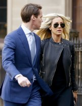 Oliver Curtis arrived at court flanked with his wife, PR businesswoman Roxy Jacenko.