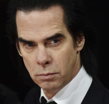 Grieving: Nick Cave.