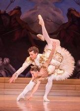 Lana Jones and Kevin Jackson in the Australian Ballet's <i>Sleeping Beauty</i>.