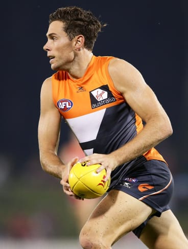 In demand: The Giants' Josh Kelly has reportedly been offered a nine-year $9 million deal by the Kangaroos.