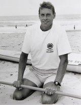 David Quinlivan in his surf lifesaving days.