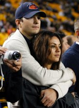 """""""My first real kiss ever was with him on the show"""": Mila Kunis."""