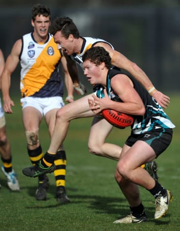 Isaac Taylor took at AFL Canberra's top gong.