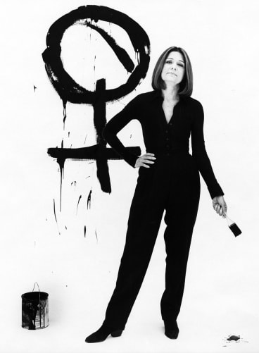 """""""It's important to be sceptical,"""" says Gloria Steinem, """"but to be pessimistic is to give up."""""""