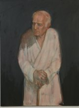 Ann Cape visited dementia sufferers in nursing homes to create portraits including Solitude.
