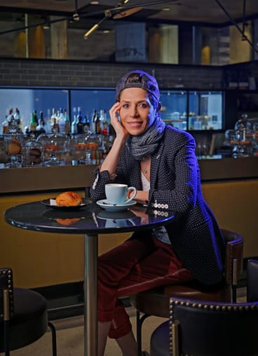 Dominque Crenn was awarded World's Best Female Chef by San Pellegrino.