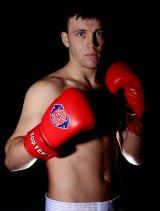 Banned: Welsh boxer Fred Evans.