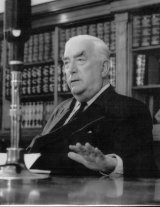 Sir Robert Menzies in 1962