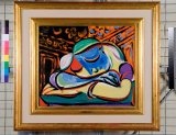 Picasso's Jeune Fille Endormie, the painting that makes it all possible.