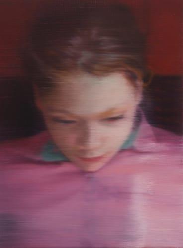 Ella (903-1) 2007, oil on canvas.