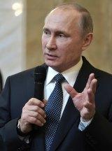 "Vladimir Putin, praised by Pauline Hanson for ""standing up for his nation""."