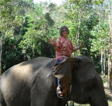 Jennifer, a former librarian,  moved to Chiang Mai in Thailand.