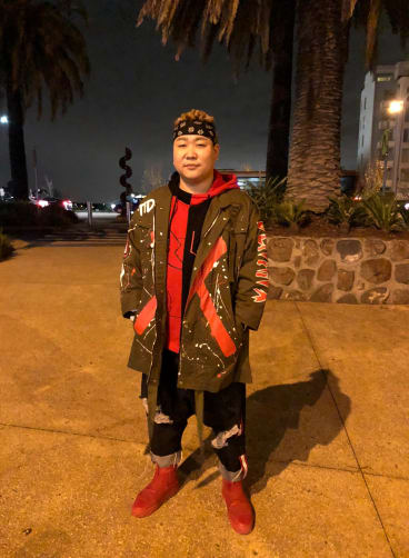 Kaison Zhang: combining styles.