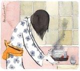 Illustration: Robin Cowcher