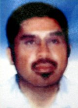 Indonesian National Police released this photo of Hambali in 2003.