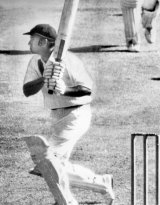 The iconic moment when Doug Walters hit Bob Willis for six off the last ball of the day to bring up his century in a session.