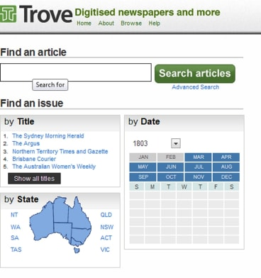 Trove, the National Library of Australia's digitised resource, is under threat.