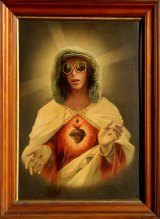 A depiction of Corey Worthington as Jesus Christ was entered in the 2008 Blake Prize.