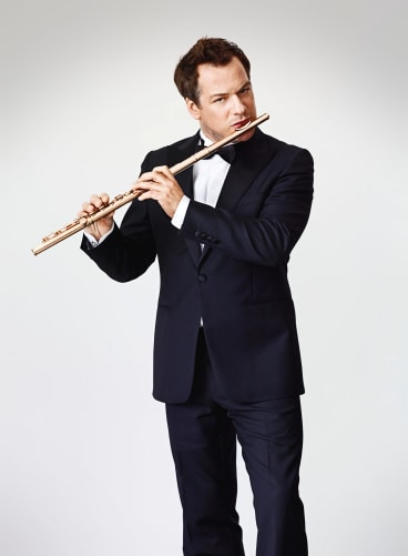 Flute player Emmanuel Pahud.