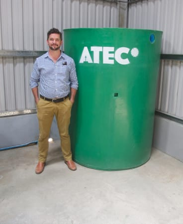 """Ben Jeffreys, chief executive ATEC Biodigesters: """"Never stop learning."""""""