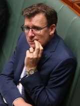 Human Services Minister Alan Tudge during question time on Thursday.