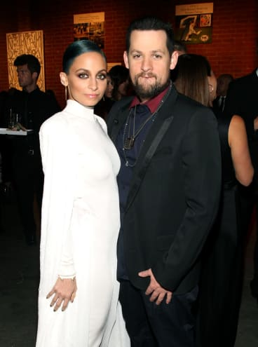 Nicole Richie and her husband Joel Madden, who is a judge on The Voice Australia.