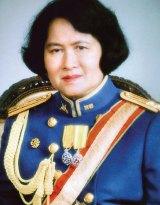 Thai Princess Galyani Vadhana, the elder sister of the king.