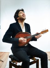 Mandolin player Avi Avital displayed an intimate understanding of the musical form.