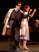 Hamor (Tobias Cole) and Iphis (Jacqueline Porter) in The Vow.
