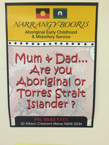 Narrangy-Booris offers free midwifery and early childhood services to Aboriginal families.