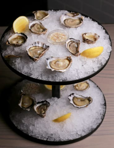 Moonlight Flat oysters.