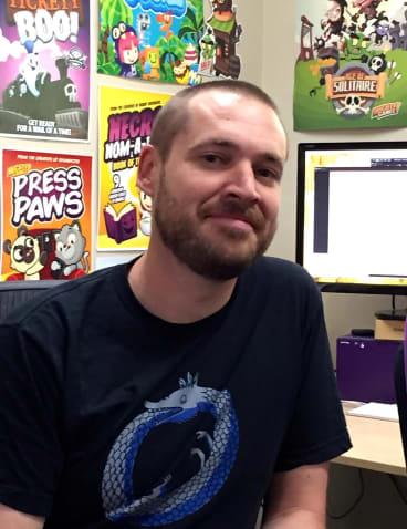 Matt Ditton's Many Monkeys makes the mobile game <i>Breath of Light</i>.