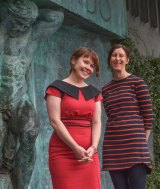 Dr Bianca Fileborn and researcher Rachel Thorpe.