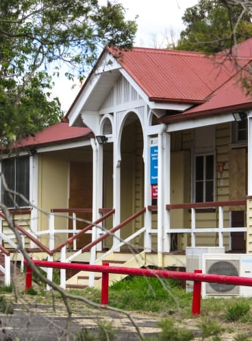 The historic stables that will be preserved as part of the Yeerongpilly Green development.