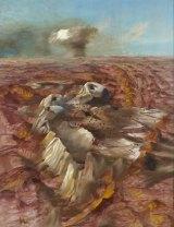 Sidney Nolan's <i>Central Desert Atomic Test</i>.